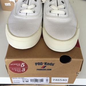2269e6d3121 Keds Shoes - Pro Keds Royal CVO White Womens Sneakers
